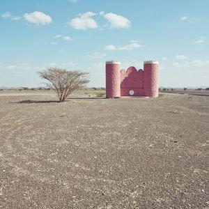 Northern desert in Oman Sultanate
