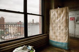 """BECKLEY BEDDING: : """"Mattress with View on Manhattan'"""