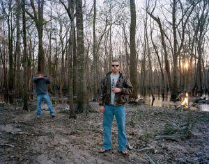 Rob and Ricky, Near Martins Landing   © Eliot Dudik