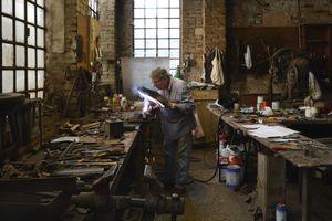 Venetian Craftsmanship - Rino Morosini iron and brass workshop