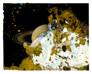 A Photograph of the Planet Saturn Eaten by Bacteria Found on an Adulterer's Engagement Ring