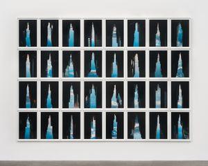 BUILDINGS MADE OF SKY VIII, installation, 2009 © Peter Wegner