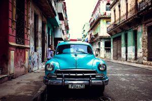 Chevrolet. Havana Cuba.