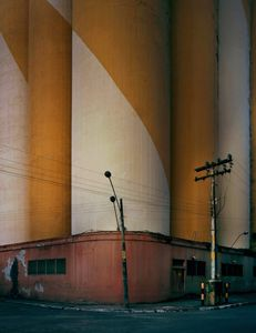 Twisted Silos © Barry Cawston