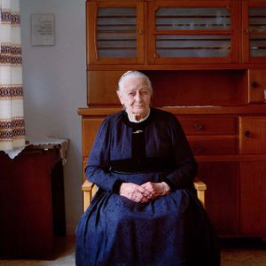 Justine Krafthoefer, Frankenberger Land, Hesse, 2014. From the series: The last women in their traditional peasant garbs