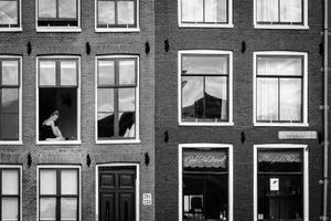 In my window - Amsterdam