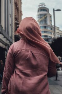 BACKS  // Woman in Pink