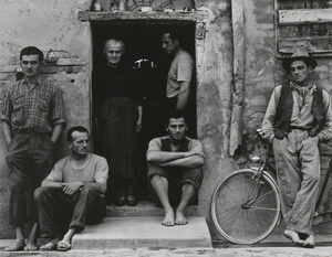 The Family, Luzzara (The Lusettis). Paul Strand, 1953 (negative); mid- to late-1960s (print). © Paul Strand Archive, Aperture Foundation