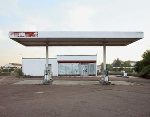 "Station #13, from ""Twentysix Abandoned Gasoline Stations"" © Eric Tabuchi"