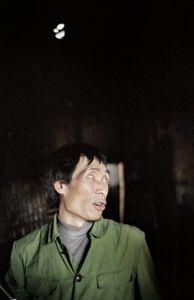 District of Dagu, China 2005. A blind farmer.