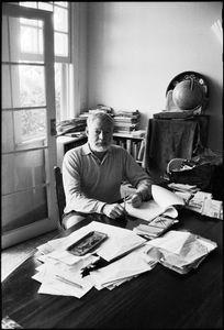 Ernest Hemingway , Cuba, 1957 © Jesse A. Fernández, Dominique Fiat