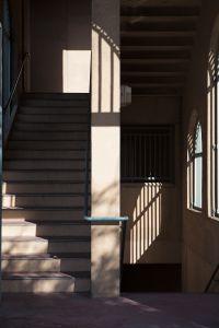 Stairwell, Train Station, Pomona