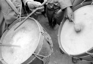 """Drummers, Exhumation Festival"" Andoabatonomby 1996"