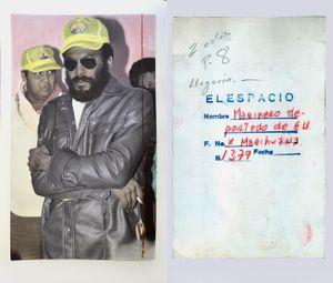 """Marinero deportado deE.U.XMarihuana""""Sailor deported E.U. for marijuana trafficking ""8-II/78 and Back of the original photo"