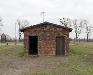 Washroom Barracks, Auschwitz Memorial and Museum, 2016