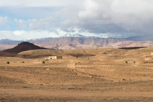 Morocco - people from the distance