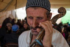 The Musician. Azrou, Morocco