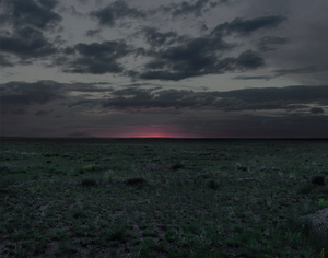 The Polygon Nuclear Test Site XII (Dust To Dust), Kazakhstan, 2011. Chromogenic Print © Nadav Kander. Exhibitor: Flowers Gallery.