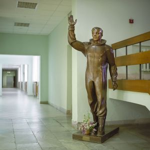 Monument to Yuri Gagarin, Star City. © Maria Gruzdeva
