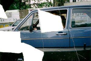 No. 83, Berlin, July 1990, from Bilder von der Straße © Joachim Schmid