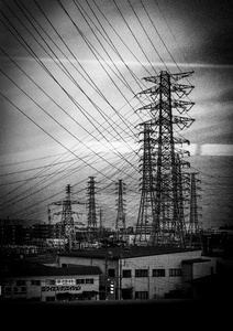Powerlines, Fukushima 2016