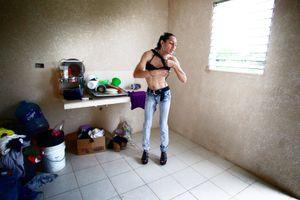 Deborah is dressing as a woman to earn his livelihood as a prostitute. © Meeri Koutaniemi