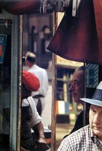 Reflection, 1958 © Saul Leiter