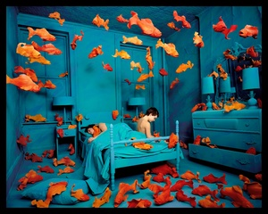 Revenge of the Goldfish, 1981. Color photograph. © Sandy Skoglund. Exhibitor: Paci contemporary