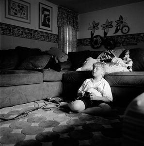 "Connor (Videogames). Syosset, NY. From the series ""Childhood Reveries""  © Brian Shumway"