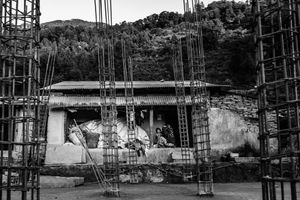 After more than a year and a half, the residents of Barpak are still living in temporary shelters.