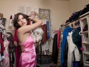 Amber in Closet