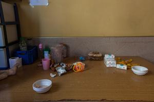 Casablanca, March 2015. A moment after lunch, inside di asylum.
