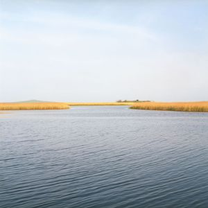 Seascape, Azov sea, Russia-Ukraine sea border. © Maria Gruzdeva