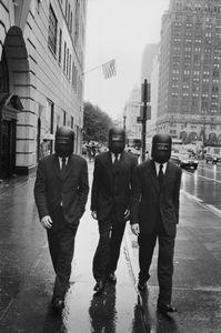 Alex Lundquist, Mark van der Loo, Norbert Michalke, New York 2000 © Peter Lindbergh