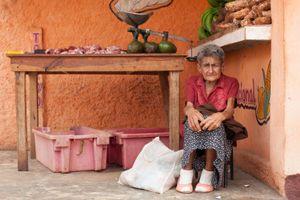 Market stall holder