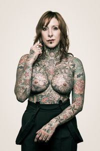 Maika, 37 – tattoo shop owner and body piercer