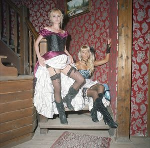 German Can-Can Girls, Westernstadt Pullman City, Eging as See, 	Germany, 2010