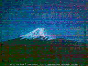 "From the series ""100100 Views of Mount Fuji,"" 2008-2010. Courtesy of  Museum Fur Kunst und Gewerbe."