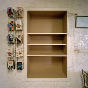 Book shelf, from the series, Transience © Stephen Chalmers
