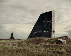 "The Polygon Nuclear Test Site I (After The Event), Kazakhstan 2011. From the book ""Dust"" © Nadav Kander. Courtesy Flowers Gallery."