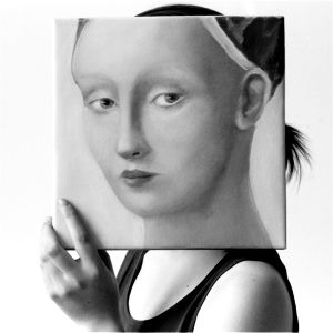Allegro, from Transfigurations: A Collaboration, by photographer Richard Bram and painter Silvia Willkens, 2007