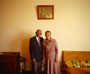 """Rasoamaharo Parents in Their Home"" Antananarivo, Madagascar"