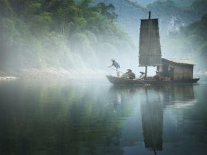 Yishan Island, Voyage (Ten Thousand Waves), 2011 © Isaac Julien, Metro Pictures
