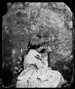 Alice Liddell by Lewis Carroll, 1858 © National Portrait Gallery, London