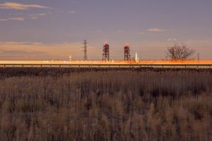 NJ Turnpike and reeds