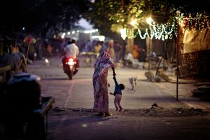 A Mother and Her Son in Bhopal