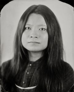 """Dona."" 8x10""  Wet-plate collodion tintype. © 2012 Keliy Anderson-Staley"