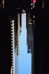 BUILDINGS MADE OF SKY VII (detail), 2009 © Peter Wegner