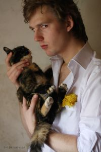 The Portrait with a Cat.