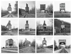 Coaling Towers, Portfolio 2, 2013 © Jeff Brouws, Robert Koch Gallery